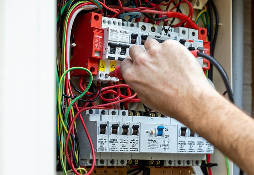 detector inspectot electrical service