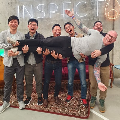 Detector Inspector IT team